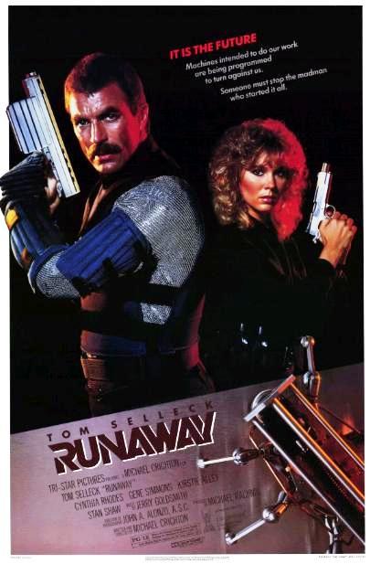 Бунт роботов / Runaway (1984): постер