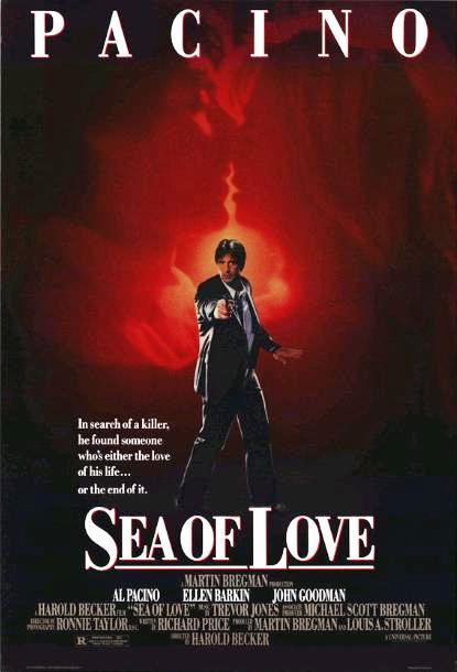 Море любви / Sea of Love (1989): постер