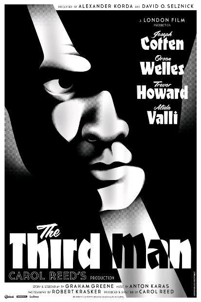 Третий человек / The Third Man (1949): постер