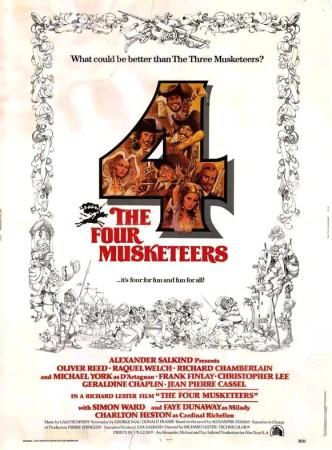 Четыре мушкетёра / The Four Musketeers (1974)