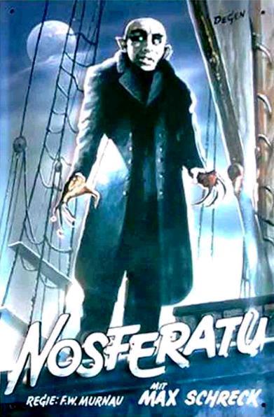 Носферату: Симфония ужаса / Nosferatu, eine Symphonie des Grauens (1922): постер