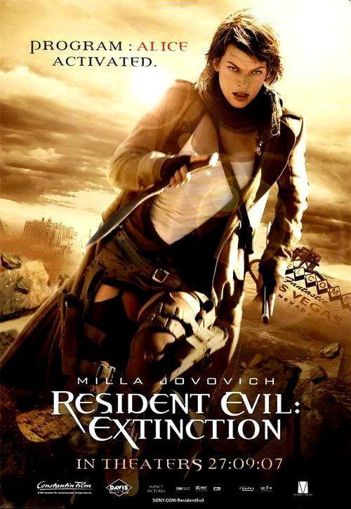 Обитель зла 3: Вымирание / Resident Evil: Extinction (2007): постер