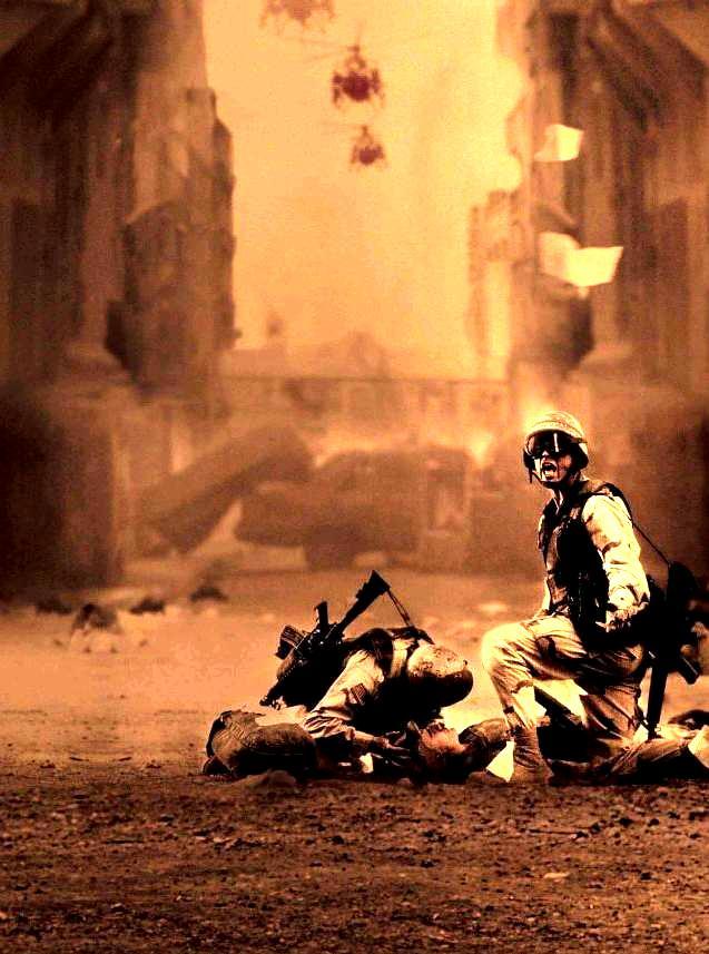 Падение «Чёрного ястреба» / Black Hawk Down (2001): кадр из фильма