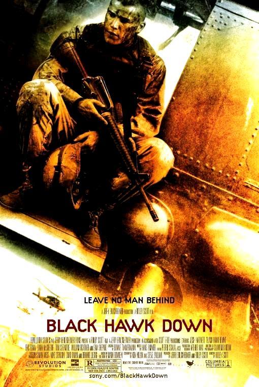 Падение «Чёрного ястреба» / Black Hawk Down (2001): постер