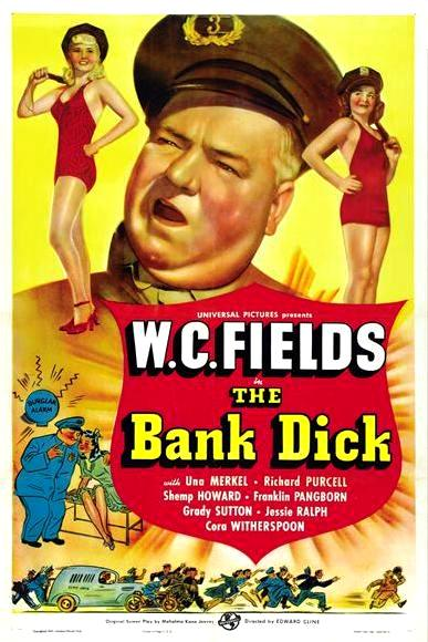 Банковский сыщик / The Bank Dick (1940): постер