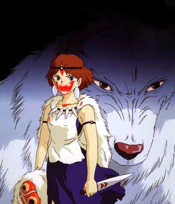 Принцесса Мононокэ / Mononoke-hime (1997): кадр из фильма