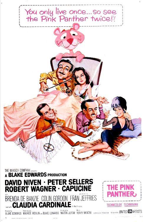 Розовая пантера / The Pink Panther (1963): постер
