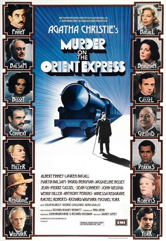 Убийство в Восточном экспрессе / Murder on the Orient Express (1974): постер