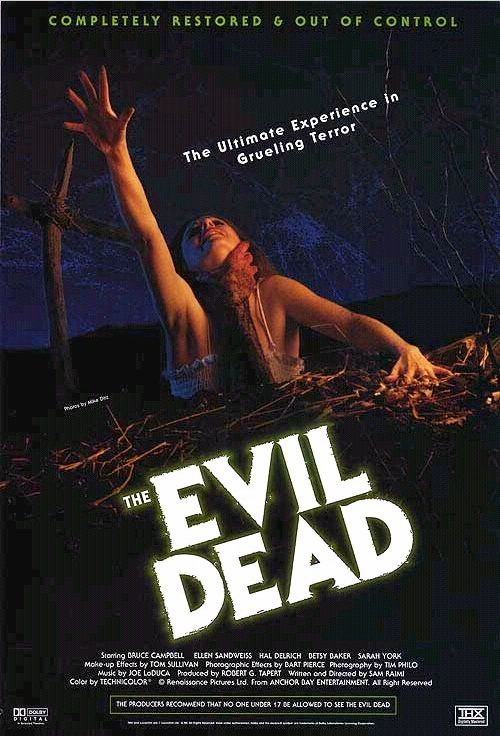 Зловещие мертвецы / The Evil Dead (1981): постер