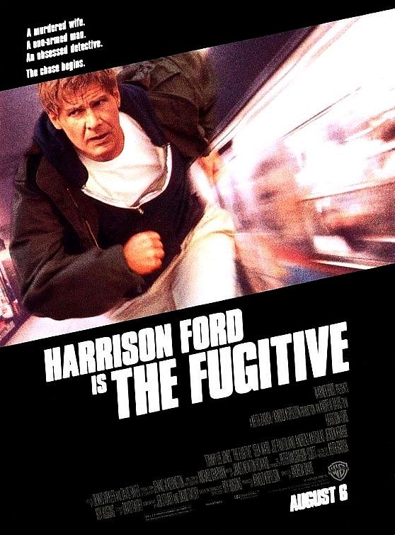 Беглец / The Fugitive (1993): постер