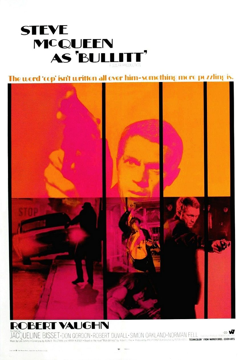 Буллит / Bullitt (1968): постер