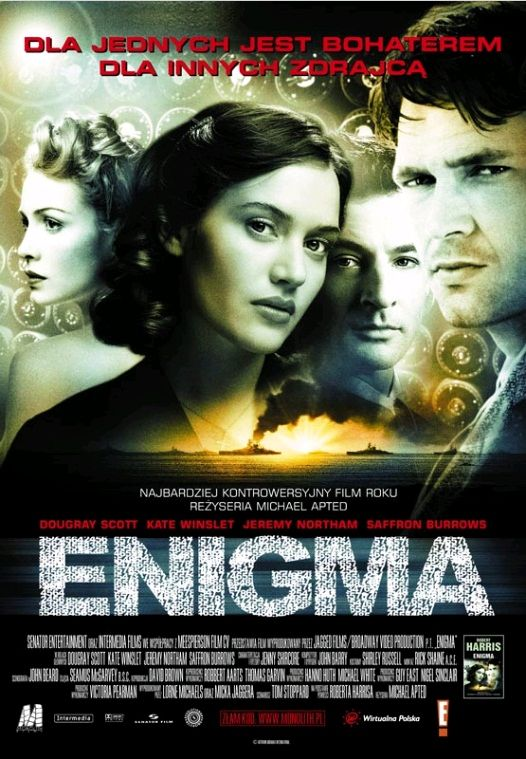 Энигма / Enigma (2001): постер