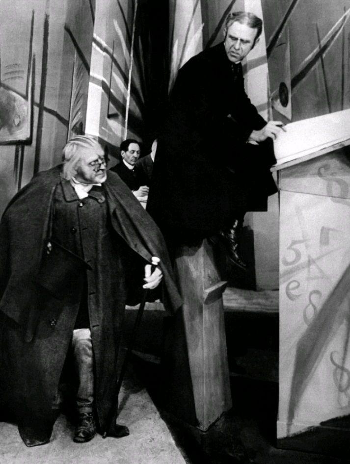 Кабинет доктора Калигари / Das Cabinet des Dr. Caligari (1920): кадр из фильма
