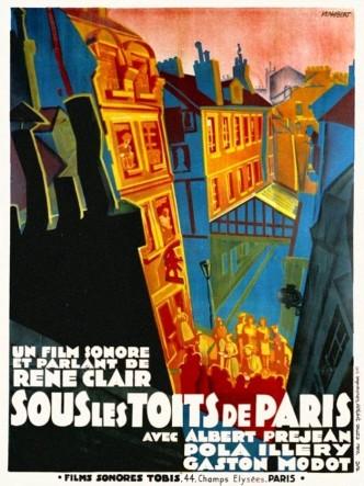 Под крышами Парижа / Sous les toits de Paris (1930)