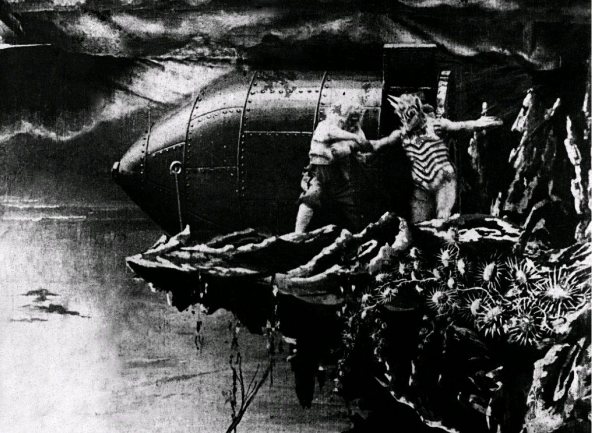 Путешествие на Луну / Le voyage dans la lune (1902): кадр из фильма