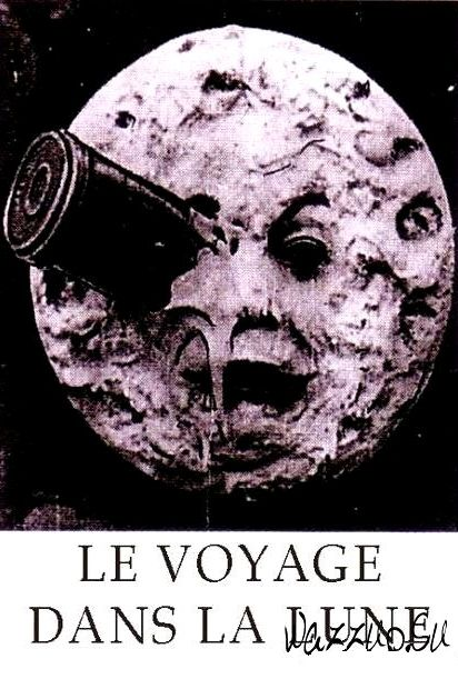 Путешествие на Луну / Le voyage dans la lune (1902): постер