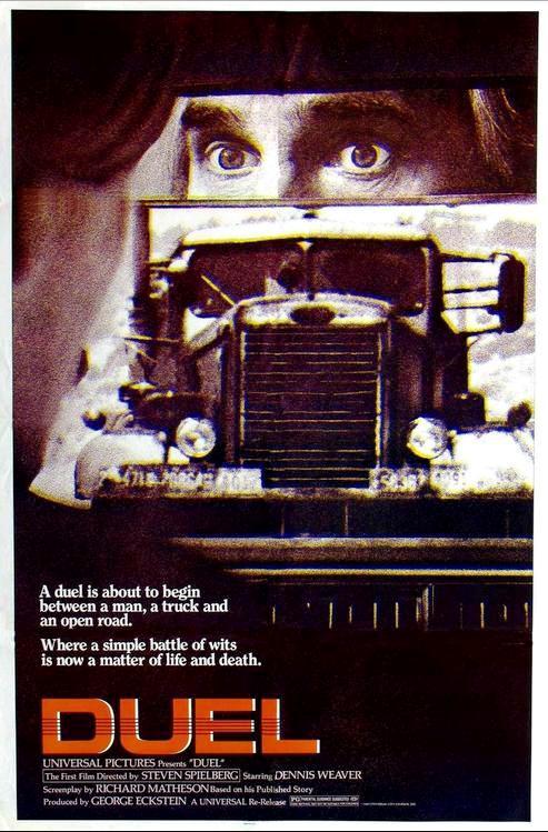 Дуэль / Duel (1971) (ТВ): постер
