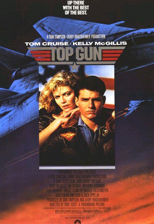 Лучший стрелок / Top Gun (1986): постер