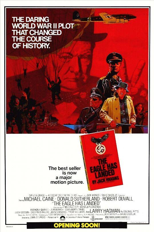 Орёл приземлился / The Eagle Has Landed (1976): постер