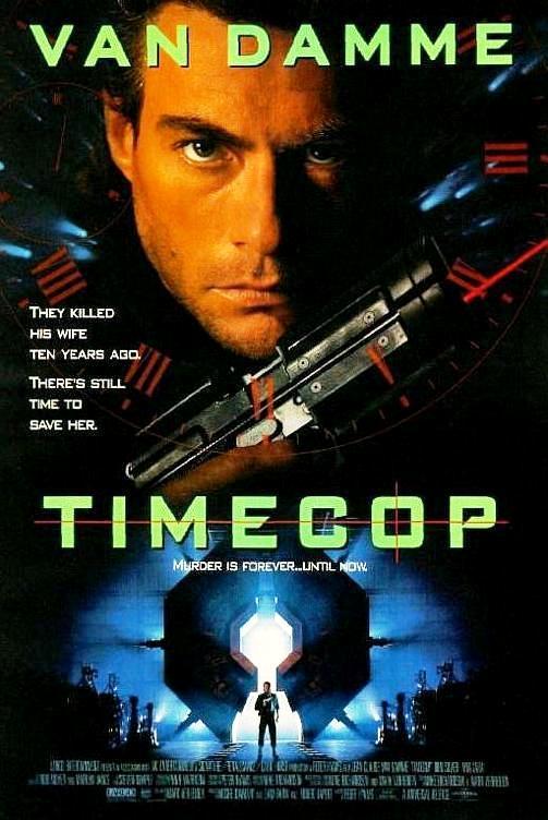 Патруль времени / Timecop (1994): постер