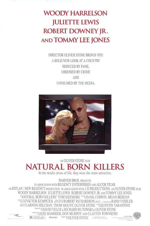Прирождённые убийцы / Natural Born Killers (1994): постер