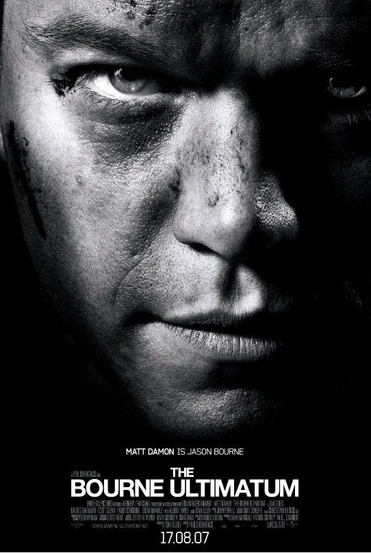 Ультиматум Борна / The Bourne Ultimatum (2007): постер