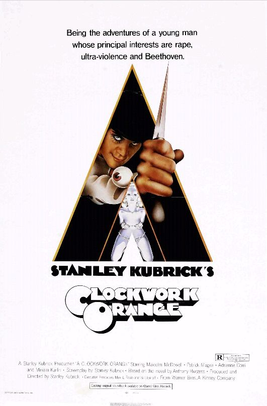 Заводной апельсин / A Clockwork Orange (1971): постер