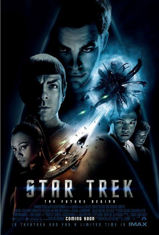 Звёздный путь / Star Trek (2009): постер