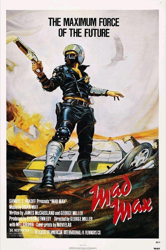Безумный Макс / Mad Max (1979): постер