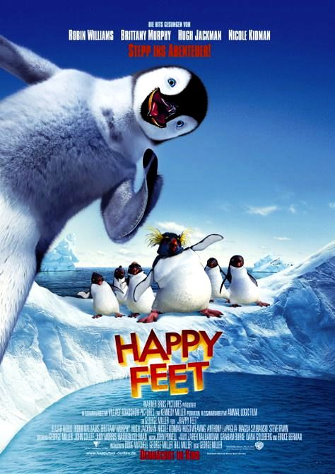 Делай ноги / Happy Feet (2006): постер