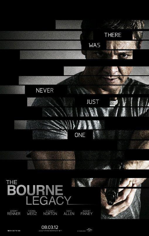 Эволюция Борна / The Bourne Legacy (2012): постер