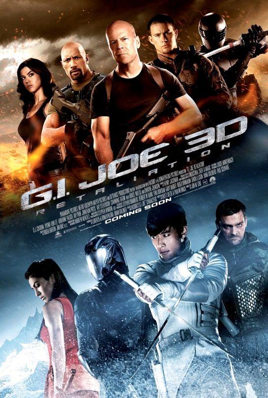 G.I. Joe: Бросок кобры 2 / G.I. Joe: Retaliation (2013): постер