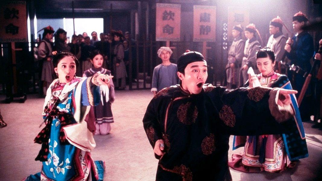 Правосудие моей ноги / Sam sei goon / Justice, My Foot! (1992): кадр из фильма