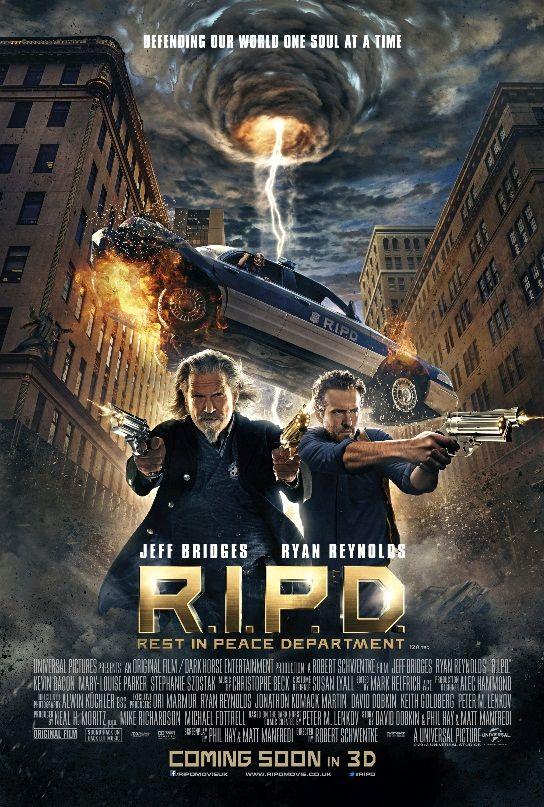 Призрачный патруль / R.I.P.D. (2013): постер