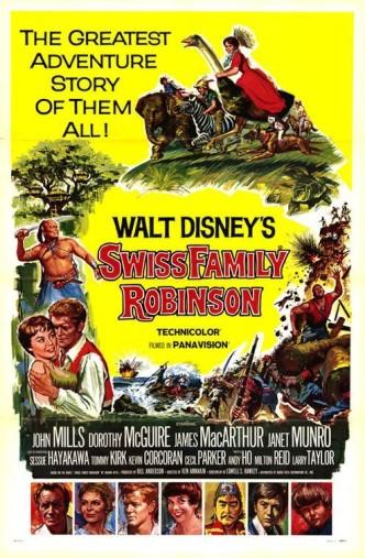 Швейцарская семья Робинсон / Swiss Family Robinson (1960)