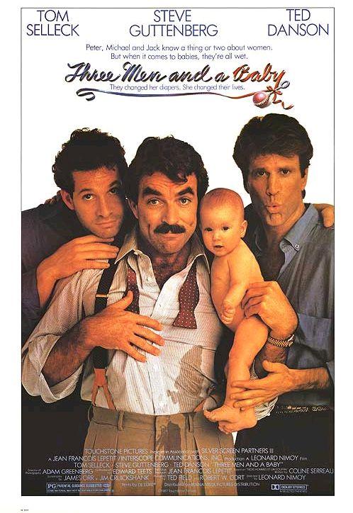 Трое мужчин и младенец / 3 Men and a Baby (1987): постер