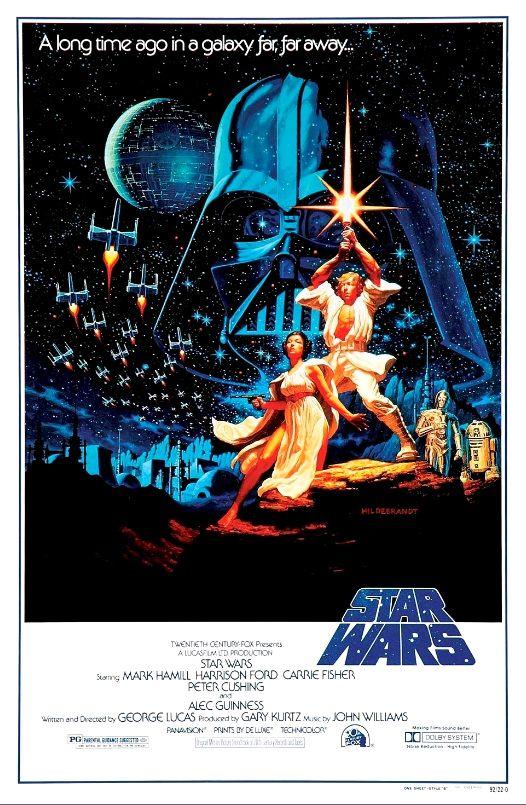 Звёздные войны / Star Wars (1977): постер