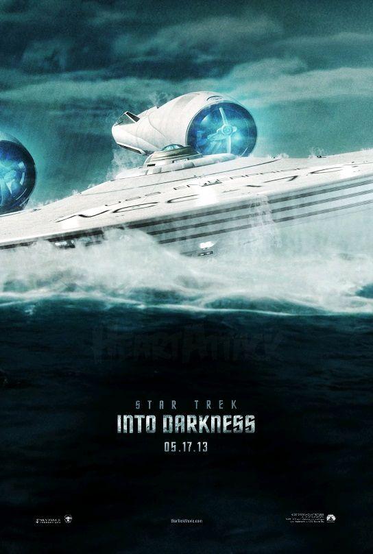 Звёздный путь: Возмездие / Star Trek Into Darkness (2013): постер