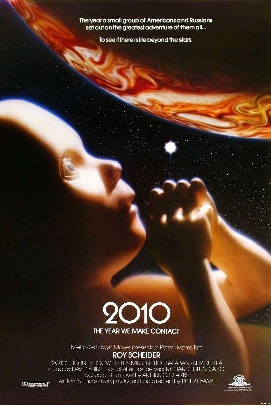 2010: год вступления в контакт / 2010 (1984): постер