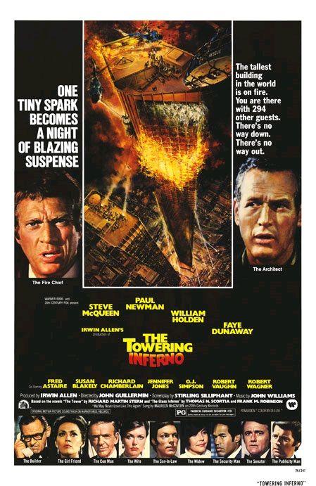Ад в поднебесье / The Towering Inferno (1974): постер