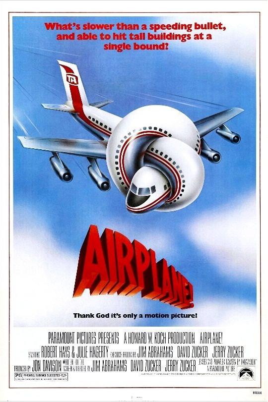 Аэроплан! / Airplane! (1980): постер