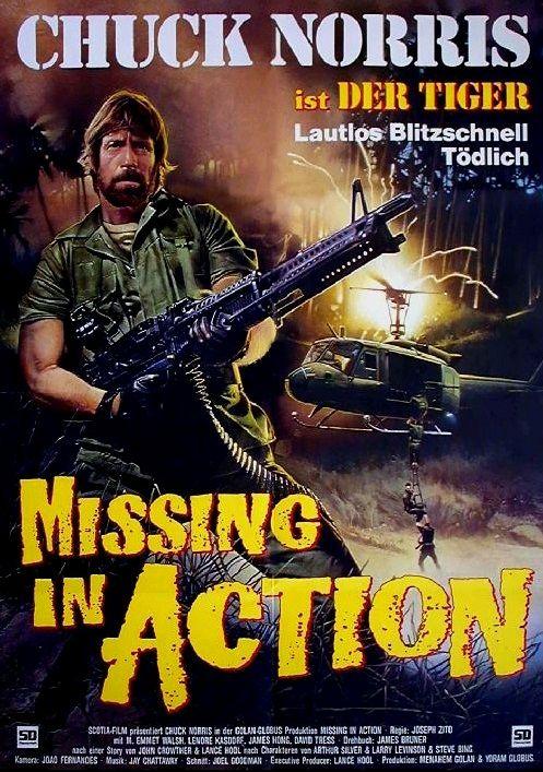 Без вести пропавшие / Missing in Action (1984): постер