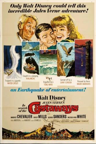 Дети капитана Гранта / In Search of the Castaways (1962)