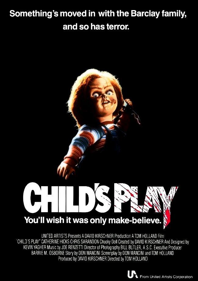 Детская игра / Child's Play (1988): постер
