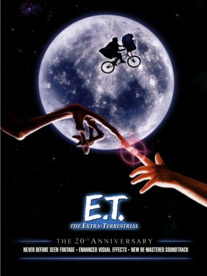 Инопланетянин / E.T. the Extra-Terrestrial (1982): постер
