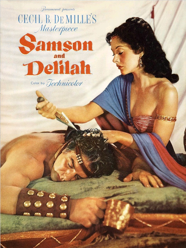 Самсон и Далила / Samson and Delilah (1949): постер