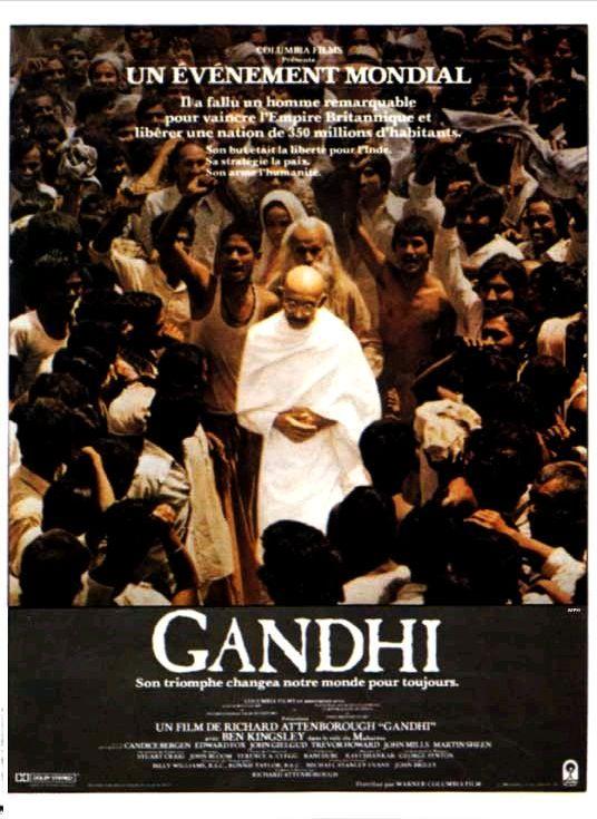 Ганди / Gandhi (1982): постер