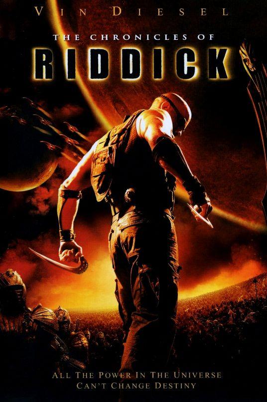 Хроники Риддика / The Chronicles of Riddick (2004): постер