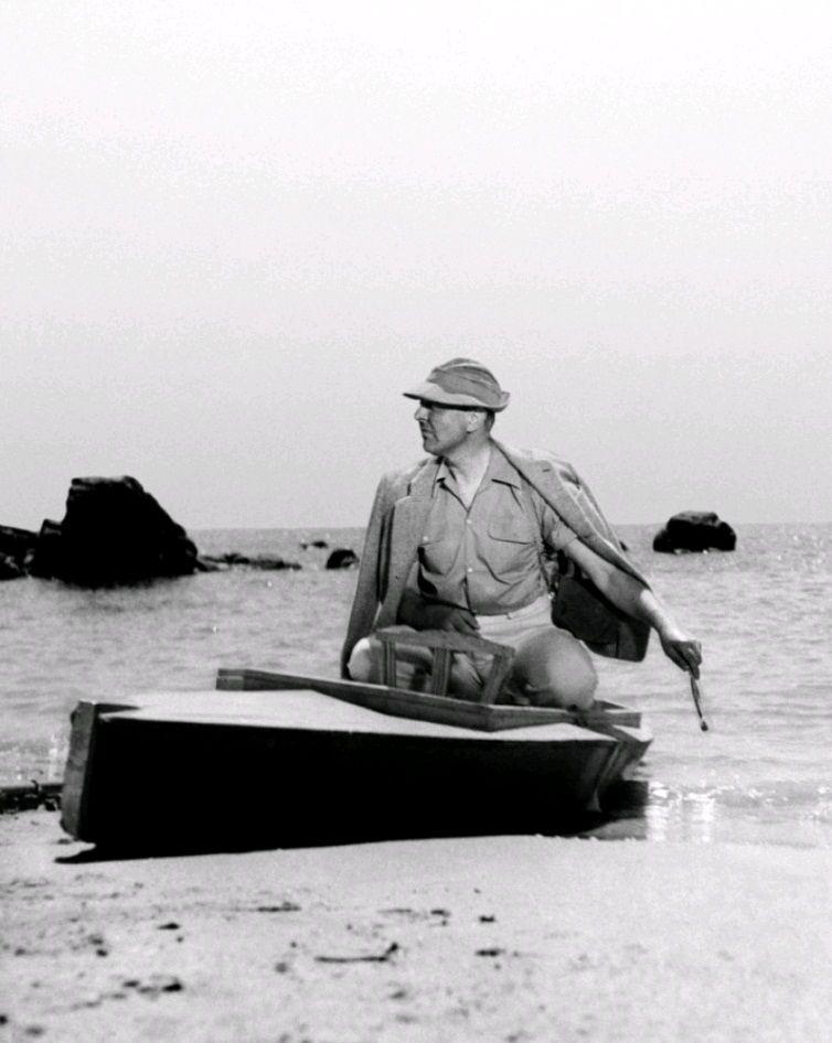 Каникулы господина Юло / Les vacances de Monsieur Hulot (1953): кадр из фильма
