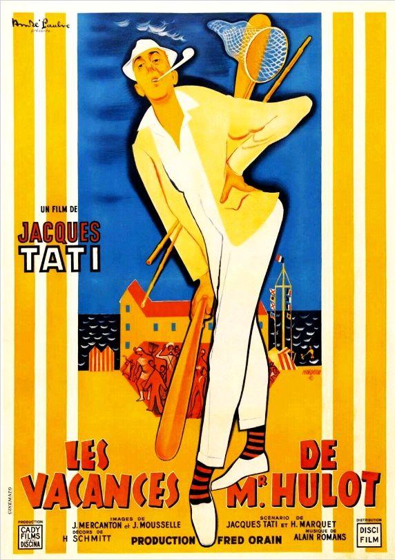 Каникулы господина Юло / Les vacances de Monsieur Hulot (1953): постер